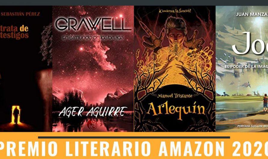 Novelas aspirantes al Premio Literario Amazon 2020 2