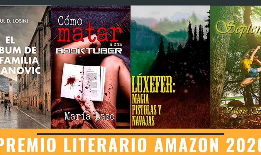 Novelas aspirantes al Premio Literario Amazon 2020 3