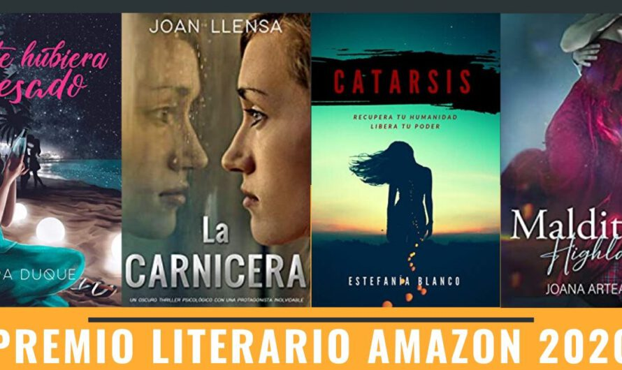 Novelas aspirantes al premio literario Amazon 2020 4